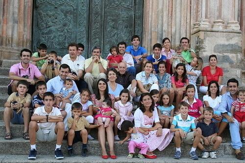 veliká rodina díky tátovo potenci