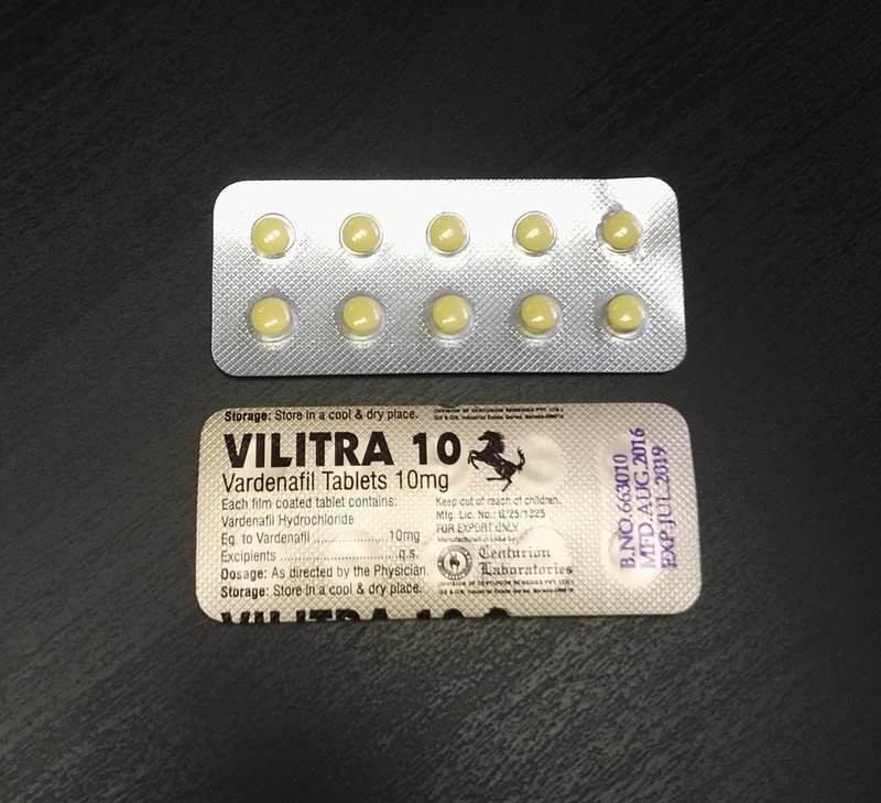 vilitra - generická levitra