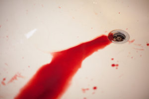 krev v moči