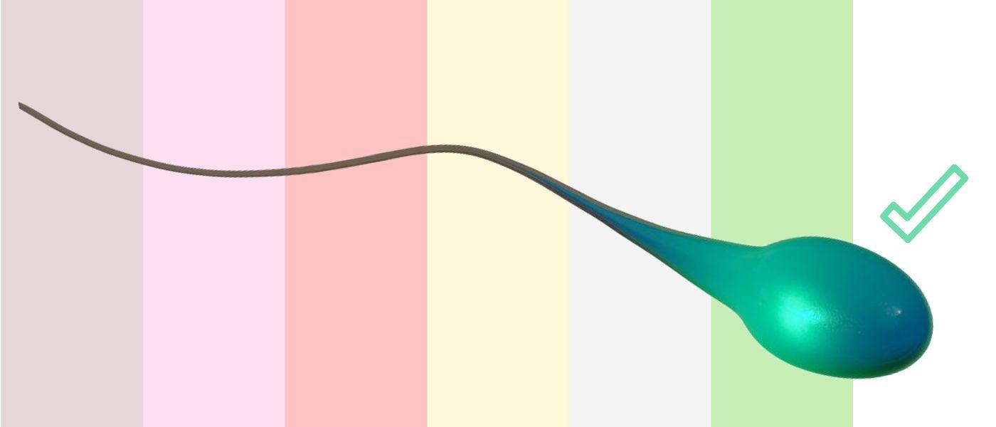 barva spermatu a ejakulátu